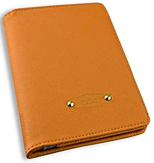 La Chance Passe Wallet for Women - Leather, Orange