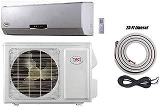 YMGI 18000 Btu 18 SEER Ductless Mini Split DC Inverter Air Conditioner Heat Pump System - 208-230 Volt with 25 Ft Kit