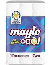 Maylo Ooo! 2 Katlı Kağıt Havlu 12'Li, 1 Paket (1 X 12 Adet)