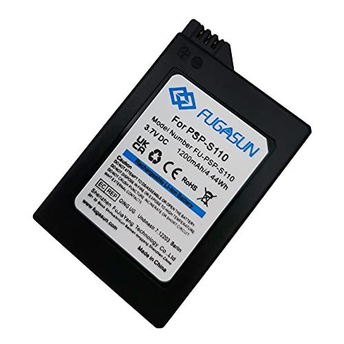 1 pcs 1200 mAh PSP-S110 Batterie PSP S110 Batterie pour Fit for: S110 Battery for Sony Playstation PSP2000 PSP2001 PSP2003 PSP2004 PSP3000 PSP3001 PSP3003 PSP3004 (1 pcs Battery)