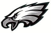 fb 4 Philadelphia Eagles Die Cut Stickers NFL Football Logo Sticker Team Helmet Set