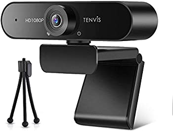 Tenvis 1080P Business Webcam with Microphone