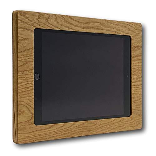 NobleFrames Tablet Halterung aus Holz für Apple iPad 7 (2019), iPad Air 3 (2019), iPad Pro 10.5 (2017) - Eiche