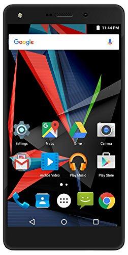 Archos 503227 Diamond 2 Plus Smartphone ohne SIM-Lock (14 cm (5,5 Zoll) Full-HD, LTE/4G, 20MP Haupt-Kamera, 64GB, 4GB RAM, 8-Kern Prozessor 64 bit, Dual-SIM, Fingerabdruck-Sensor, Android 6.0) schwarz