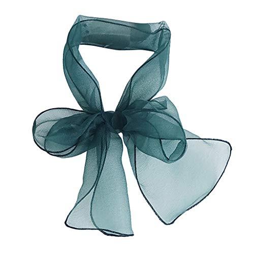VJGOAL dames sjaal, vrouwen zonnecrème kleine sjaal vintage feel vierkante halsdoek bruid bruidsmeisjes party multifunctionele boog scarf
