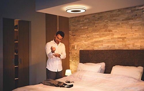 Philips Hue LED Deckenleuchte Being inkl. Dimmschalter, alle Weißschattierungen, steuerbar auch via App, schwarz, 3261030P7 - 6