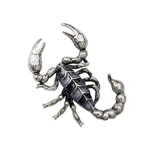 Affaires Costumes Broches Pins femmes Broche écharpe, Scorpion