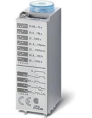 Finder serie 85 - Temporizador enchufable 2 contactos conmutado 12vca/corriente continua