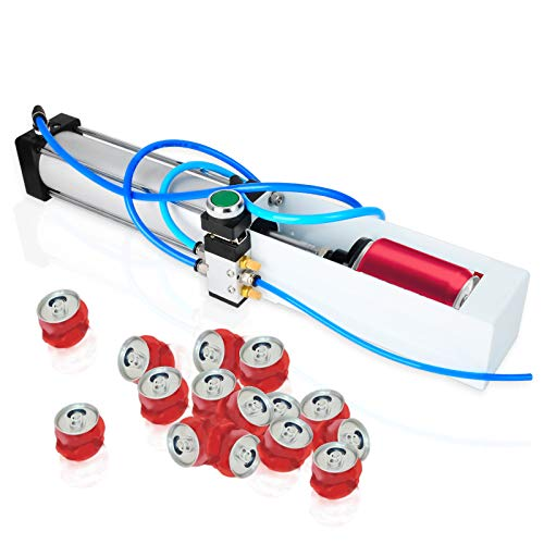 Taisher Aluminum Can Crusher Heavy Duty Pneumatic Cylinder Soda Beer Can Crusher