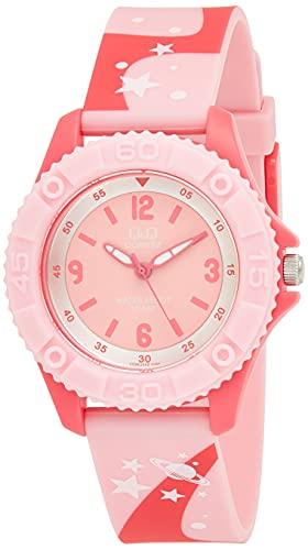 Relógio Q&Q, Infantil, Fashion, Analógico, Rosa