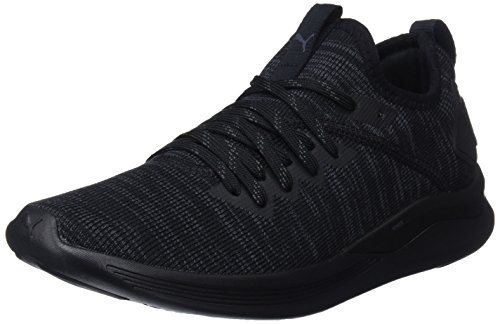 Puma Damen Ignite Flash Evoknit Wn's Sneaker, Schwarz Black, 41 EU