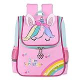 Mochila infantil para niños y niñas, mochila escolar para guardería, guardería, guardería, bolsa de viaje para 3-7