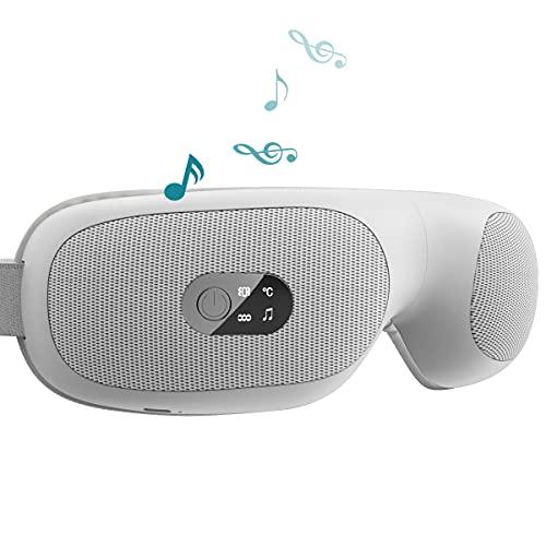 アイウォーマー 目元エステ 最新グラフェン加熱技術 音楽機能 USB充電式 目もと 通気性 ギフト プレゼント 目元ケア 男女兼用 180度折りたたみ 日本語音声
