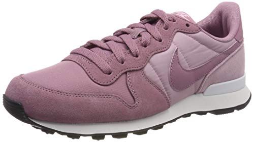 Nike Wmns Internationalist, Zapatillas de Running para Mujer, Rosa Dust/Plum Chalk/Black 501, 37.5 EU
