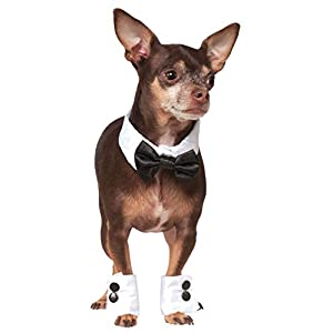Rubies Bowtie and Cuff Set Pet Accessories