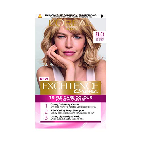L'Oreal Excellence Creme Natural Ash Blonde 8.1