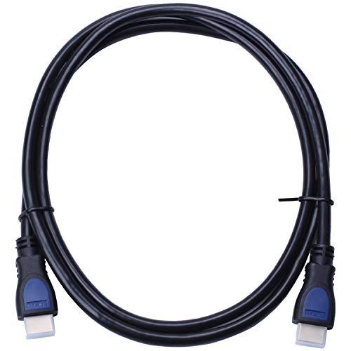 CUHAWUDBA 4K/60Hz HDMI zu HDMI 2.0 Kabel HDR 3D Unterstützung Laptop LCD HD Kabel 1,5 m