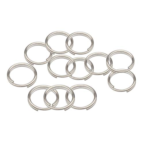 Wisdompro Anillo dividido, 12 unidades de anillos pequeños