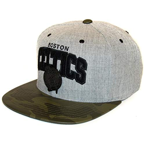 Mitchell & Ness Snapback Lux Camo Boston Celtics - Gorra, color gris...