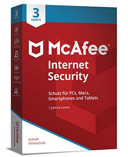 Preisvergleich Produktbild McAfee Internet Security 3 Device (Code in a Box)
