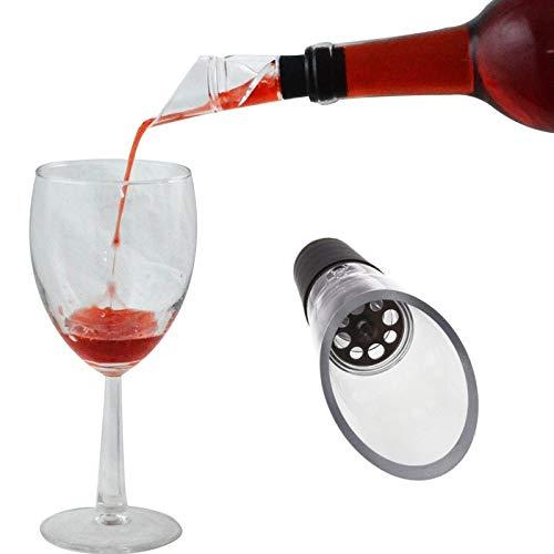 1 PC Schnell Aufblasbare gießen Topf Wasser-Zufuhr Mini-Kunststoff-Wein-Belüftungsanlagen-Stab-Werkzeug Haushalt Weinausgießer (Size : 1)