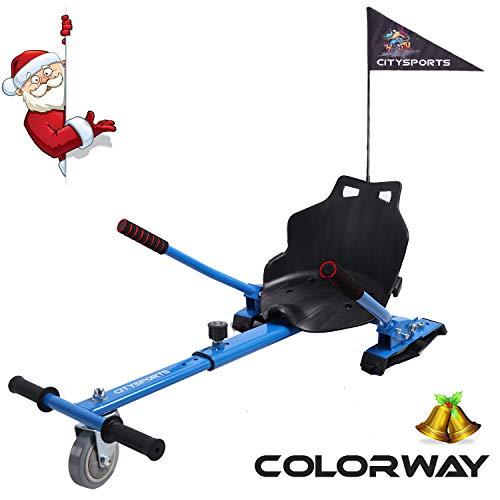COLORWAY Aiento Kart para Hoverboard de Equilibrio Automá