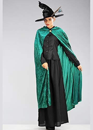 Magic Box Disfraz de Bruja Estilo McGonagall para Mujer Adulto XL (UK 18-20)