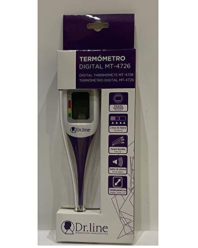 Termometro digital pantalla grande Dr line