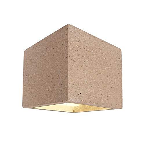 kapego Montage mural Lampe, Cube, beige Classe d'efficacité énergétique?: A + + – E