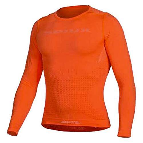 Spiuk Top Ten Camiseta Térmica, Unisex Adulto, Naranja, S/M