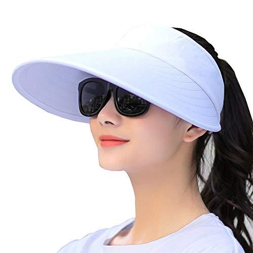 Sun Visor Hats Women Large Brim Summer UV Protection...