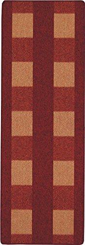 andiamo, tapijt plat weefsel Dalia duurzaam, getest op schadelijke stoffen 67 x 120 cm rood