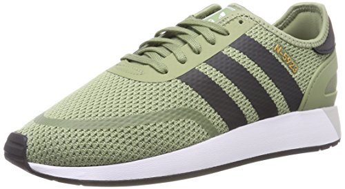 adidas Herren N-5923 Gymnastikschuhe, Grün (Tent Green F16/carbon S18/ftwr White), 43 1/3 EU