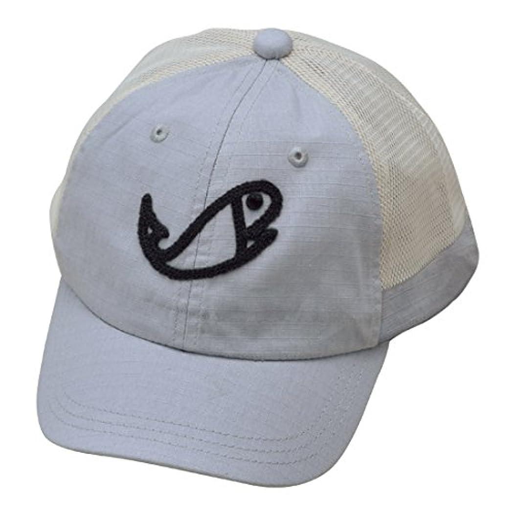 ただやる材料崩壊ラパラ(Rapala) シェニール フィッシュ ロゴ メッシュ キャップ グレー CHENILLE FISH LOGO MESH CAP RC-163LG