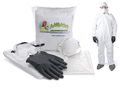 AABACO SAFETY PROTECTION KITS – Safety Kit For Emergency Response -Ready To Go - In Portable Bag (Medium)