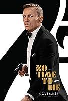 映画「NO TIME TO DIE」ポスター 両面 レアオリジナルバージョン B 27x40 ダニエル・クレイグ・アナ・デ・アルマス