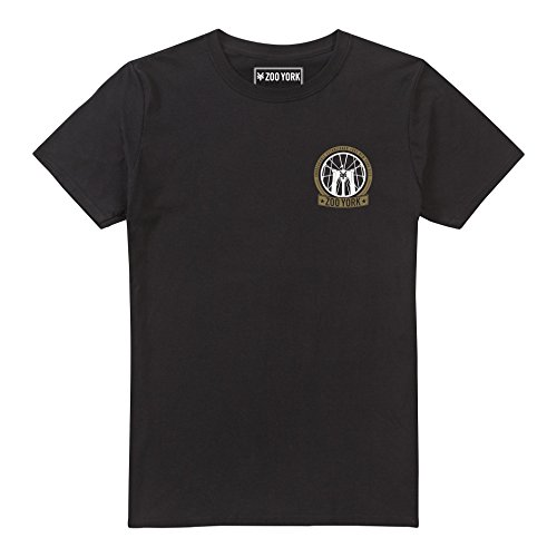Zoo York Brooklyn Bridge PuentedeBrooklyn, Negro (Black BLK), XXL para Hombre