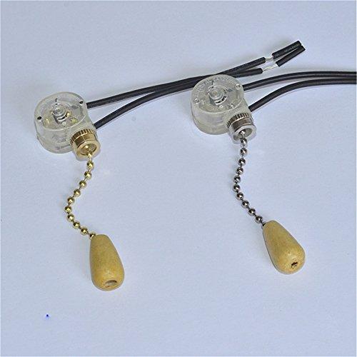 Interruptor de cadena universal para ventilador de techo o lámpara de pared