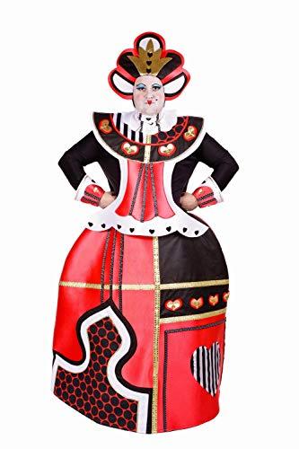 Nines D'Onil - Disfraz Reinona De Corazones Adult@