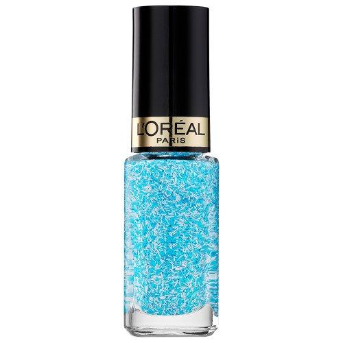 L'Oréal Makeup Designer Paris Color Riche Top Coat Grace Tweed 919, Azzurro/Bianco