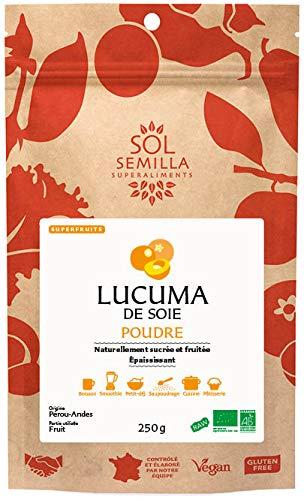 Lucuma de Soie Crue BIO - Poudre - 250g - Sol Semilla