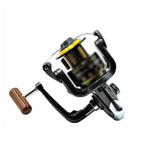 XZJJZ 2000 Series 11 Axis Metal Carrete de Pesca Mar Pesca Rod Rod Rod Spinning Rueda Barra de Mar Rodillo Carrete de Pesca Equipo de Pesca