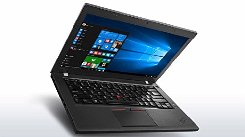 Lenovo ThinkPad T460 14 inches Laptop, Core i5-6300U 2.4GHz, 8GB RAM, 240GB Solid State Drive, Windows 10 Pro 64bit (Renewed)