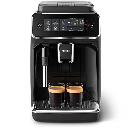 Philips EP3221/40- Cafetera Espresso Automática, 15 bares, 230V, Tecnología AquaClean, 12 Tazas, Deposito de Agua 1,8L