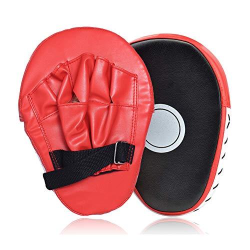 Bostar 1PCS Almohadilla de Entrenamiento de Boxeo en Forma de Arco de Mano Objetivo Manoplas de Poliuretano Paos de Cuero PU