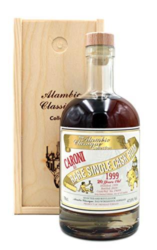 Rarität: Caroni XO 1999/2019-20 Jahre - Rare Single Cask Rum 0,7l