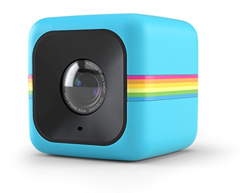 Polaroid Cube Act II HD 1080P Mountable Weather-Resistant Lifestyle Action Video Camera (Blue) 6MP...
