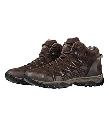 The North Face Men's Storm III Mid WP, Coffee Brown/Shroom Brown, Size 9.5