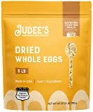 Judee's Whole Egg Powder 3lb - Just One Ingredient, Pasteurized - Great for Baking and Cooking - 100% Non-GMO, Gluten-Free & Nut-Free - Great for Camping & Outdoor Use - Made in USA