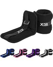 Xn8 Gewichtsmanchetten Neopreen set van 2 - Enkelgewichten - polsgewichte 0.5kg-3kg voor joggen-hardlopen-Fitness-training-oefening-thuisgym